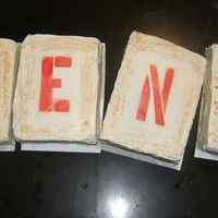 """rent"" The Musical Cake"