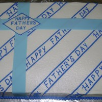 Father's Day Cake Father's Day Gift Box Cake