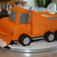 Snowplow  Snowplow for my son's 5th birthday. Wow, this was seriously a lot of work. OMG. The wheels are Ding Dongs. The sides of the truck as...