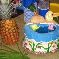 Spongebob This is one on my first cakes and I made it really fast. Even though it is really messy, I still like it. If you try this one, let the...