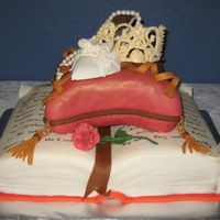 Fall Fairytale This is the same cake that I have put up before, but with a different color theme. This bride wanted a fall color scheme. Also, the book is...