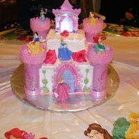 Disney Castle First time cake