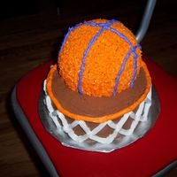 Basketball Tournament Cake