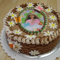 Barbie Cake I made this cake today for my 8 year old, she wanted Chocolate chocolate. So thats what she got. This is the first time I have done the...