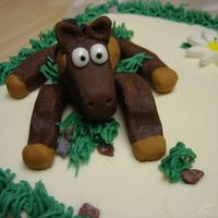 Close Up Of Horse Cake Here is a close up of one of the horses