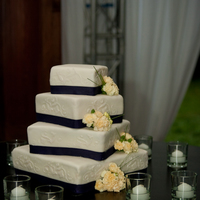 Purple Wedding   Bourbon vanilla cake with key lime pie filling