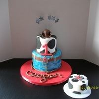Cowboy Cake   I got this idea from Pink Cake Box and from some different people on this site. Thanks for the inspiration!