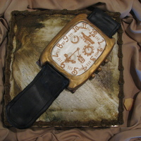 Invicta Watch Cake