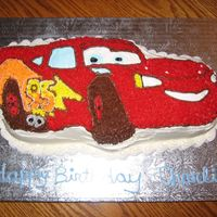 Lightning Mcqueen For a friend of the family.