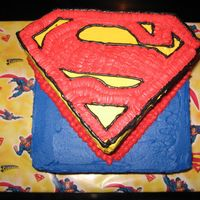Tre's 6Th Birthday Cake This was for my son. 2 layer 10 in base (butter yellow cake with strawberry, rum and cream filling) and the shield was another 2 layer 10...