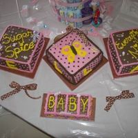 Baby Blocks In Pink And Brown For Ella Simple marble cake with all BC and a chocolate strawberry cream filling. I was going to try a FCBT, but I chickened out! LOL! Thanks to...