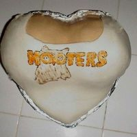 Hooters Finally!! This was the cake I was planning on making for hubbys birthday on Oct. 13th.but my oven had different plans for me, so the...