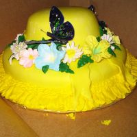 Hat Birthday Cake This is my first picture posting. I am so intimidated by the talent here that I hesitate to post mine. This is a chocolate cake with...