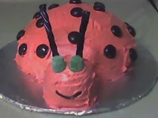 Ladybug Cake Made for a co-worker for her birthday