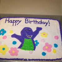 Deidra's Birthday This is one of the 1st cakes I ever did a couple years back - just never uploaded. Inspiration was from the party invitations.