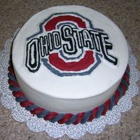 Buckeye Tried the gell transfer - it didn't work so this is freehandOf course it took hours!