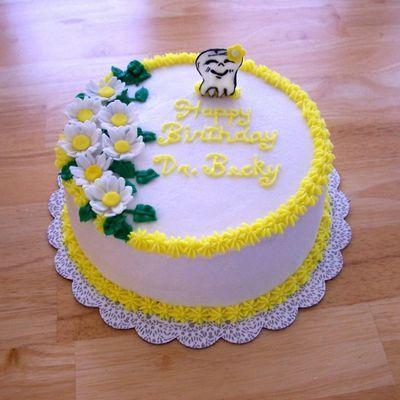 Birthday Cake For Dentist