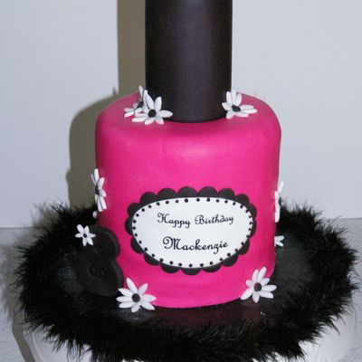 Nail Polish Cake Photos