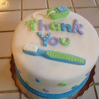 Dentist Cake Decorating Photos
