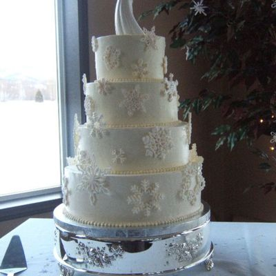 My Second Wedding Cake!