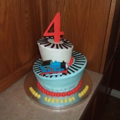 Whimsical Thomas Cake