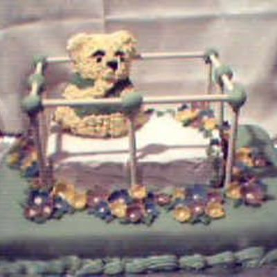 Baby Pooh on Cake Central