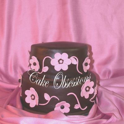 Pink Blossom on Cake Central
