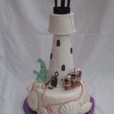 Light House Cake