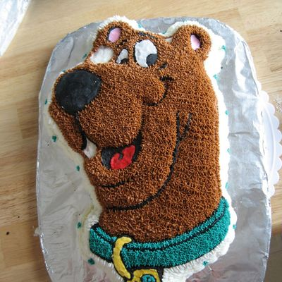 My First Scooby Doo Cake