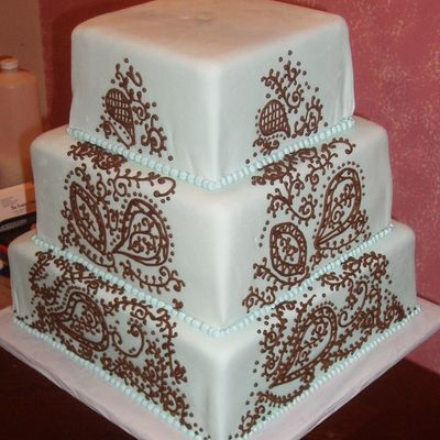 chic wedding cakes top henna inspired cakes cakecentral 12655
