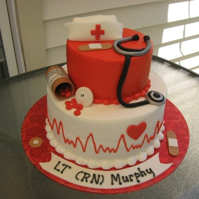 Nurse Cake Decorating Photos