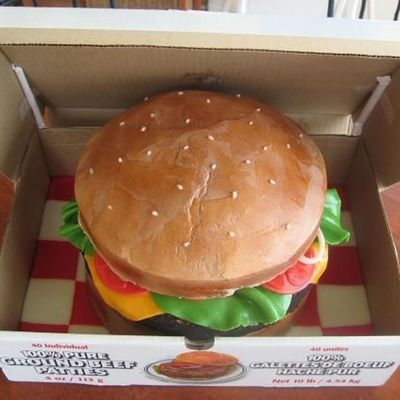 Cheeseburger Birthday