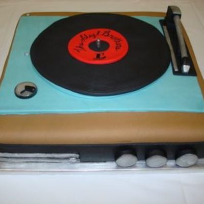 Replica Of A 1970's Record Player