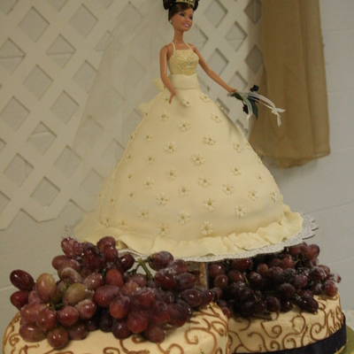 Bride Doll With Floating Tiers