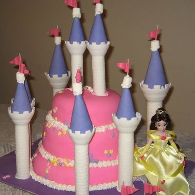 Princess Cake For A Beautiful Princess