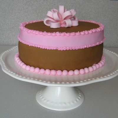 Chocolate & Vanilla Cake