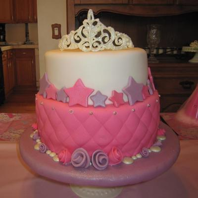 Princess Cake With Tiara