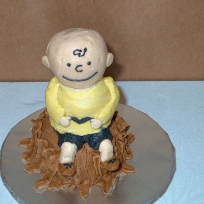 Charlie Brown Ice Cream Cone Figure