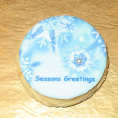 Seasons Greetings Cookies