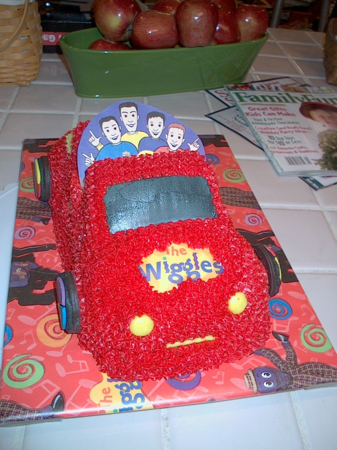 Wiggles - The Big Red Car