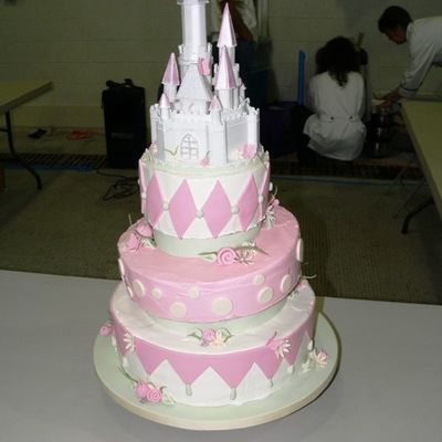 My Cake From The 2008 Mid Atlantic Wedding Cake Show And Competition