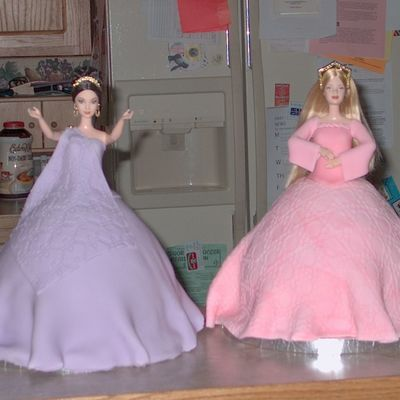 World Barbie Collection Doll Cakes