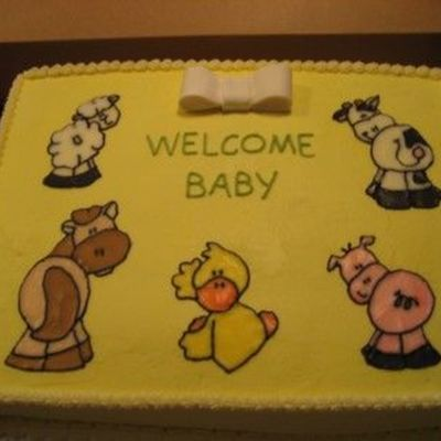 Baby Farm Animal - Baby Shower