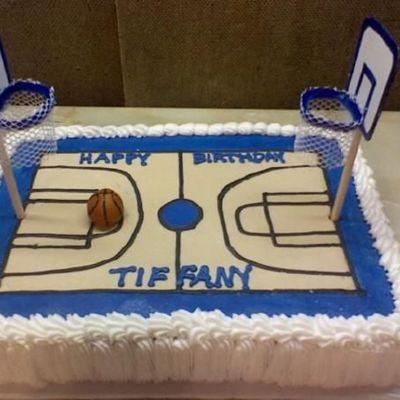 Awesome Basketball Cake Decorating Photos Funny Birthday Cards Online Kookostrdamsfinfo