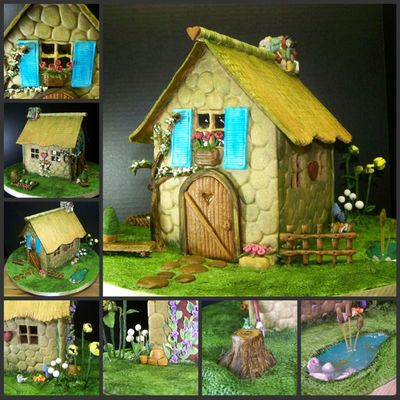 Gingerbread Potting Shed