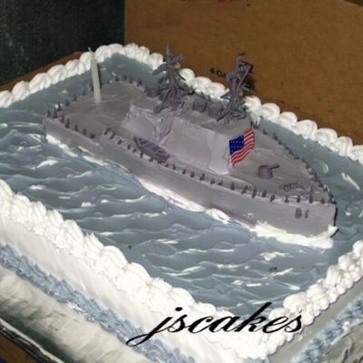 """destroyer Cake"""