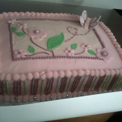 Sugar Plum Themed Cake