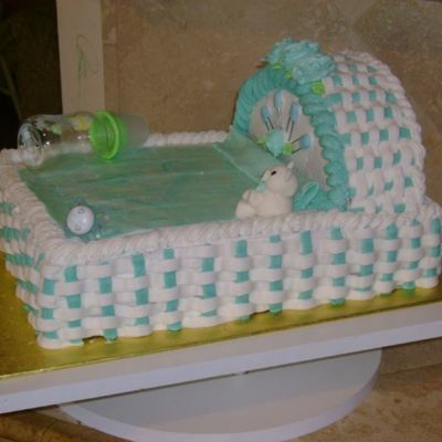Baby Crib Side View