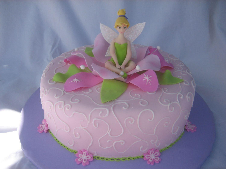 Flower Fairy Cake Designs