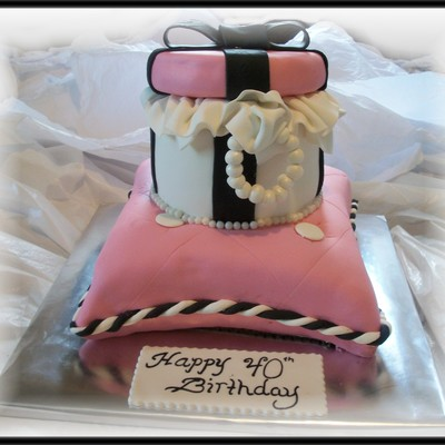 Pillow Gift Box Cake